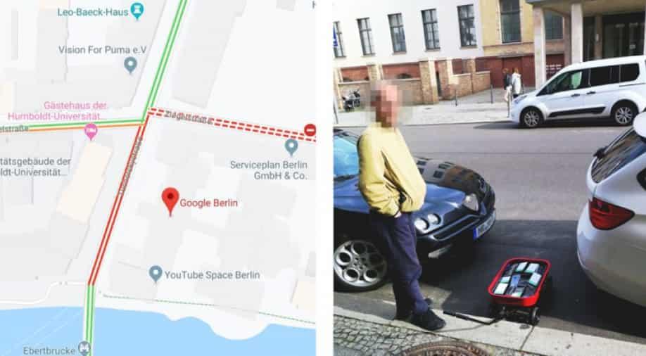 Man Fools Google Maps; Creates Fake Traffic Jam Using 99 Smartphones