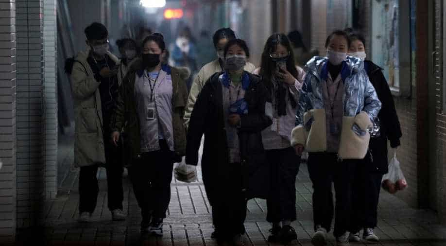 Daily deaths from coronavirus in China top 200 for 1st time""
