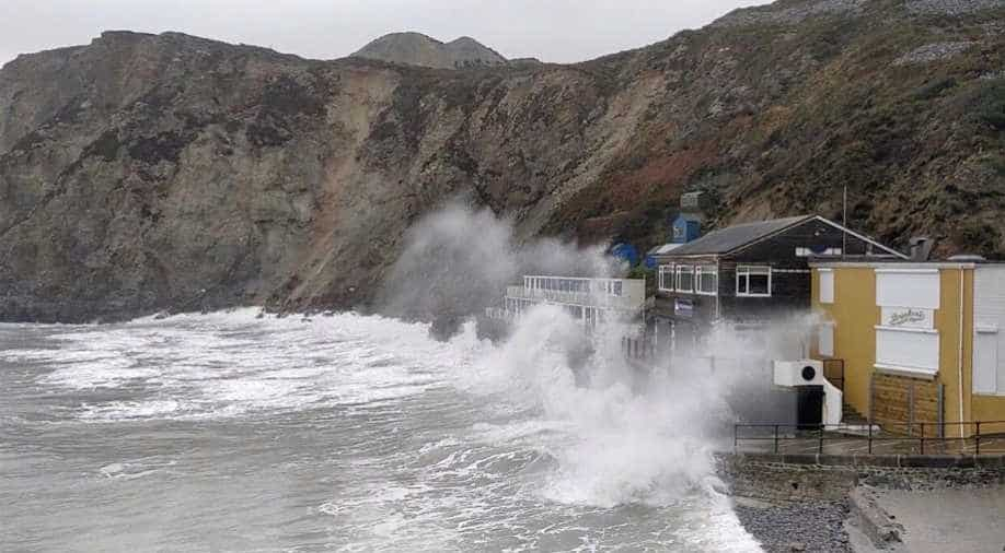 Storm Dennis: Met Office issues red warning for south Wales