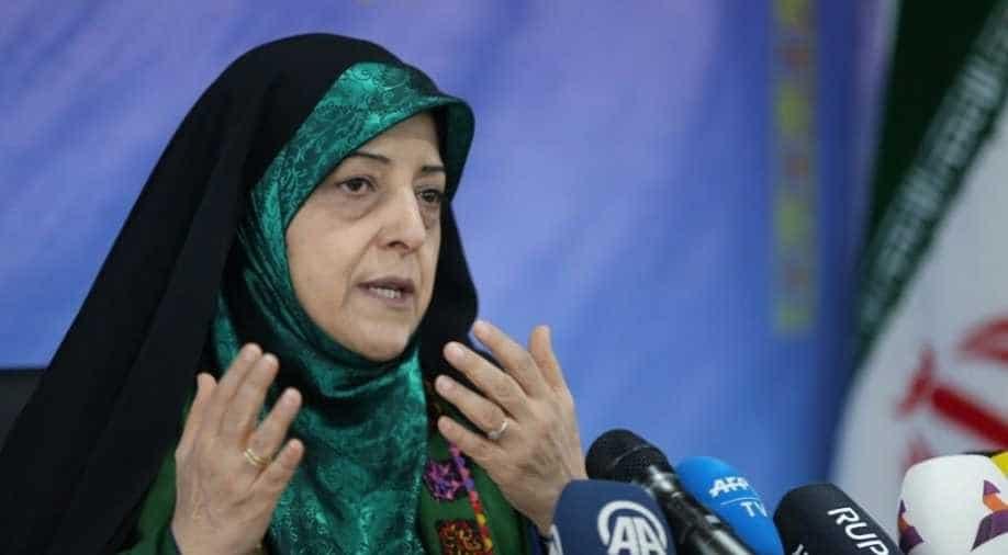 Iran vice president Masoumeh Ebtekar tests positive of coronavirus