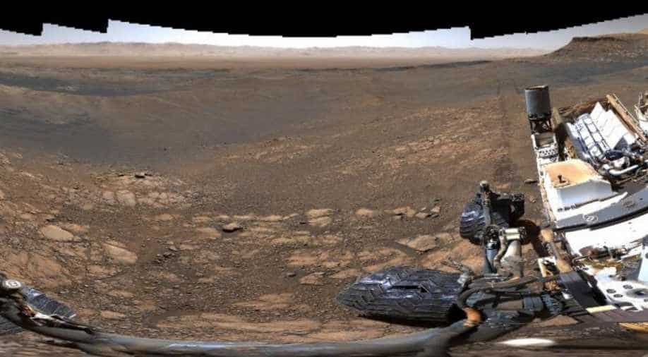 NASA's Curiosity Mars rover takes 1.8 billion pixel panorama of Mars