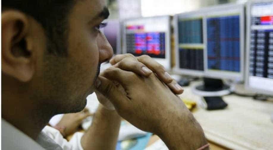Sensex plunges 3,400 points, Nifty below 7,750
