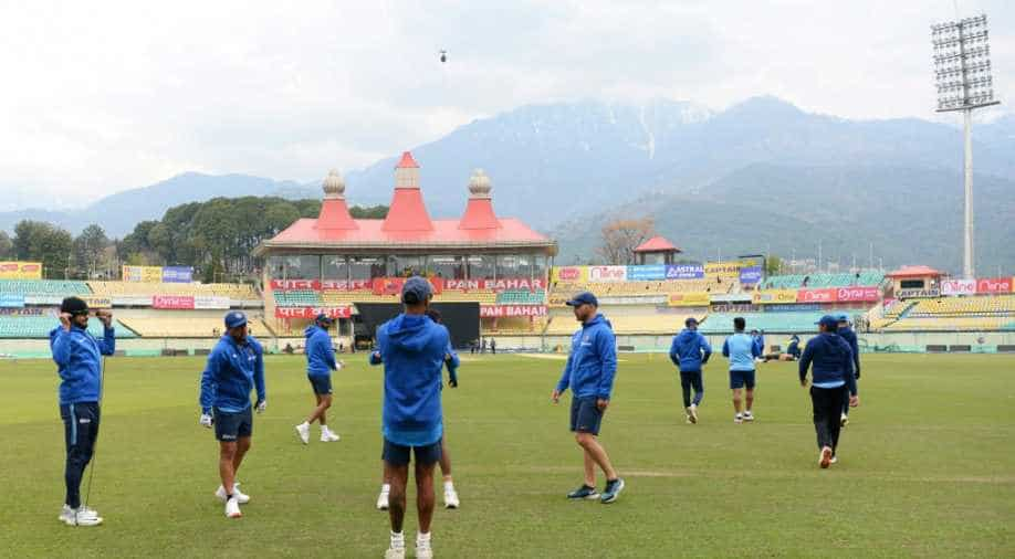 IND vs SA: Rain washes out series opener at Dharamshala