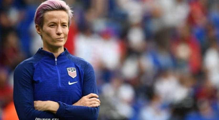 Rapinoe on the WSL: Its about time, just like in the US