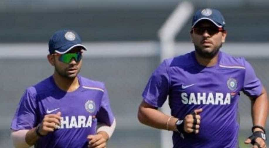 Yuvraj Singh revealed, no assist from Dhoni