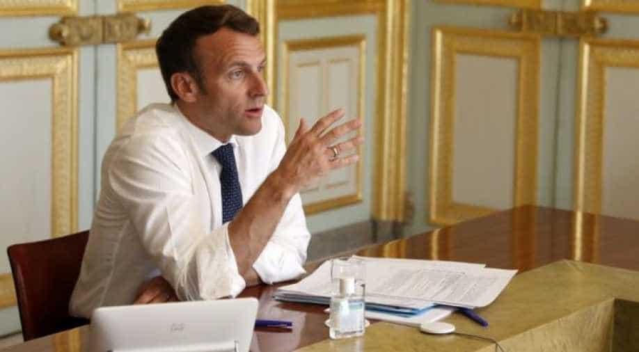 Macron questions China's handling of coronavirus crisis