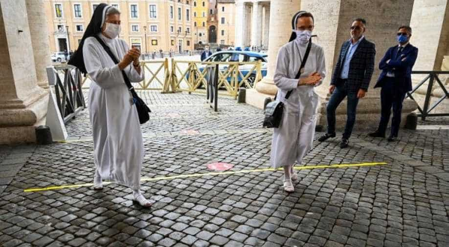 Covid-19 case confirmed in pope's Vatican residence
