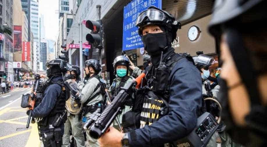 Dozens of U.S. NGOs back China's national security law on HK