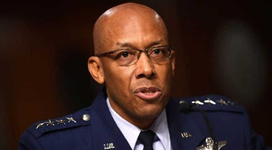 First black service chief in USA military history confirmed by Senate
