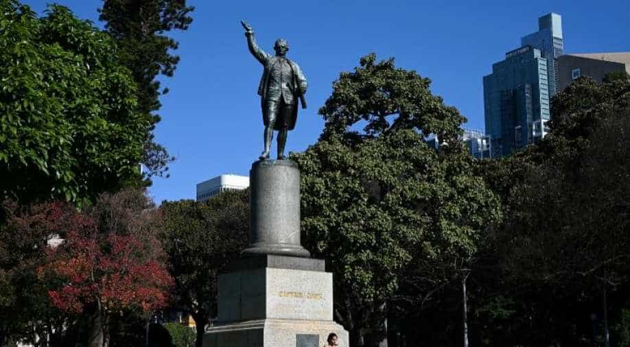 Australian police arrest two after Captain Cook statue defaced