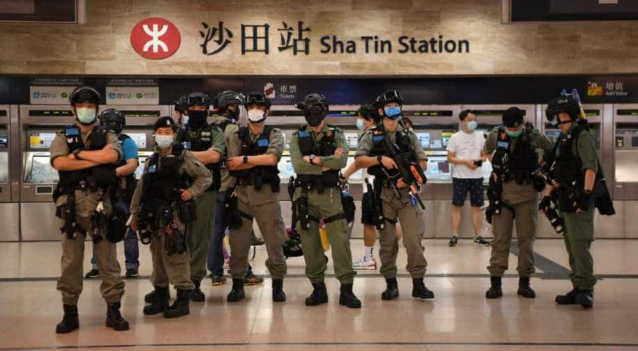 Dozens arrested amid Hong Kong protests against proposed national security law