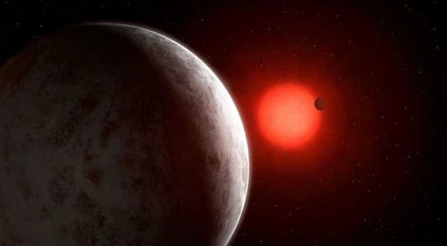 The red dwarf star Gliese 887 may have a potentially habitable planet