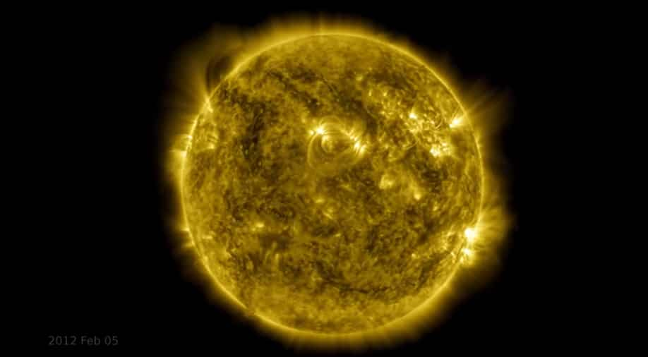 NASA unveils 10 years of solar activity in stunning time lapse video