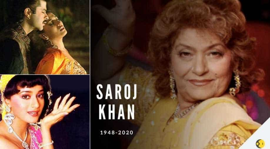 Ace choreographer Saroj Khan passes away at 72