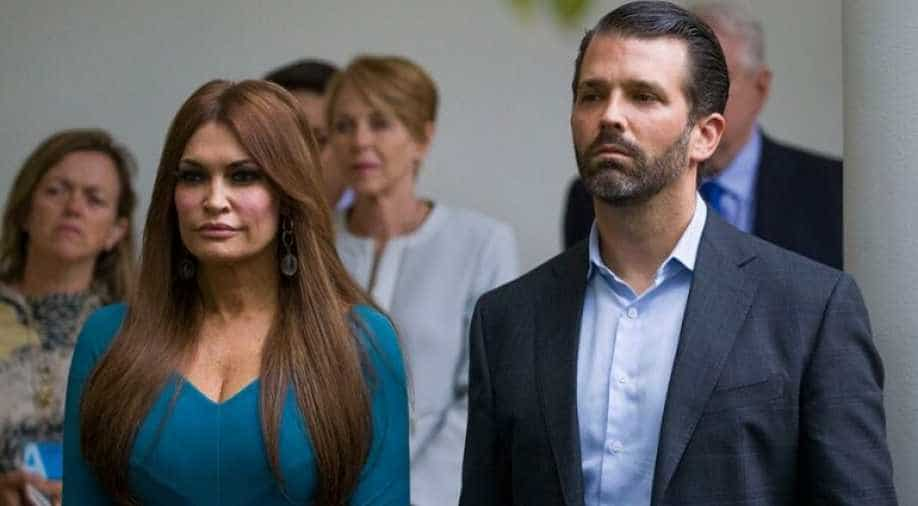 Donald Trump Jr's girlfriend tests positive for COVID-19
