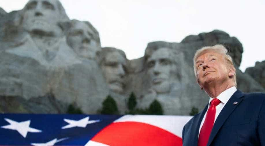 Trump vows Mount Rushmore will 'stand forever'