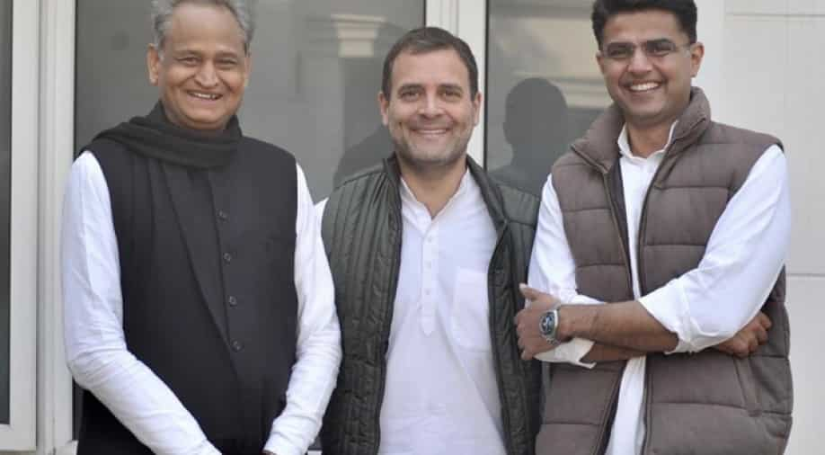 Congress MLAs, some independents pledge support to Sachin Pilot