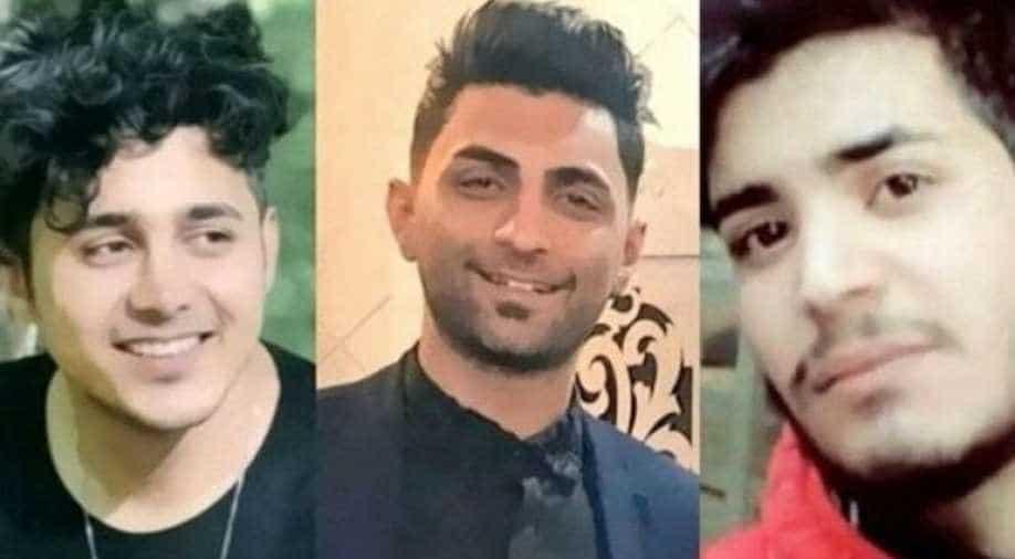 Iran halts execution of three young men over November protests