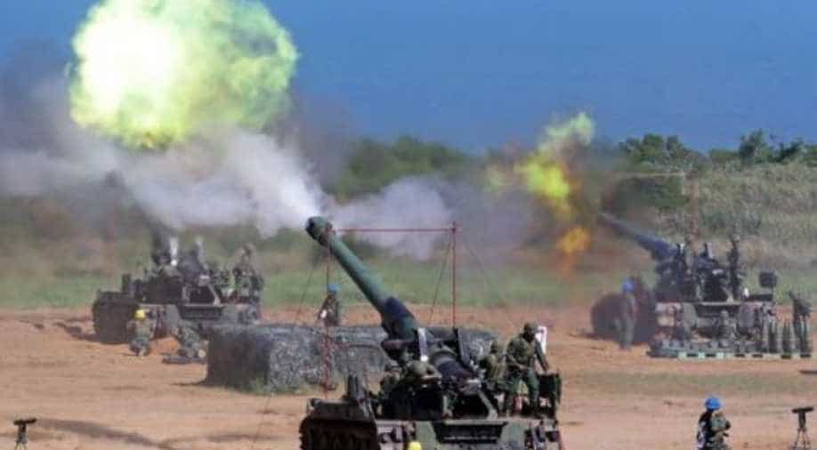 Taiwan holds live-fire demonstrations to show the Chinese