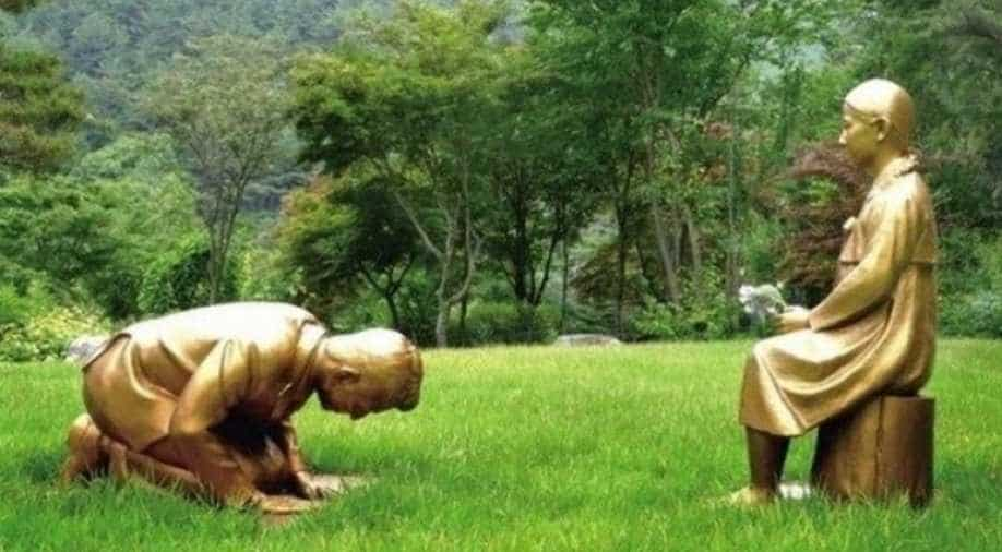 Statue symbolising wartime sex slavery victims stoke sensitivity between South Korea, Japan