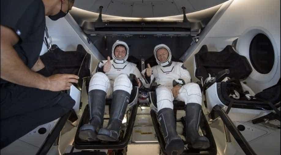 NASA astronauts successfully reach Earth aboard SpaceX capsule