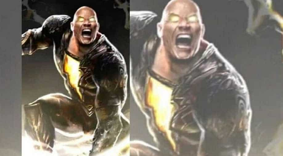Dwayne Johnson Reveals Another Look At Black Adam