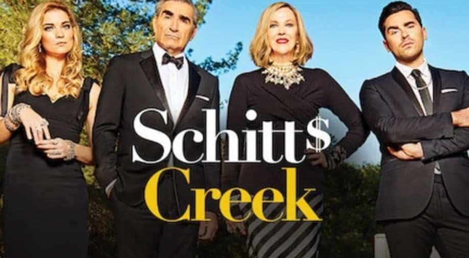 Schitt's Creek's O'Hara and Murphy clean up at Emmys 2020