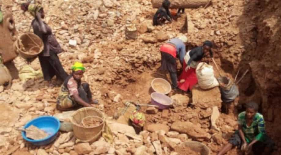 At least 50 killed in collapsed gold mine in east Congo -NGO
