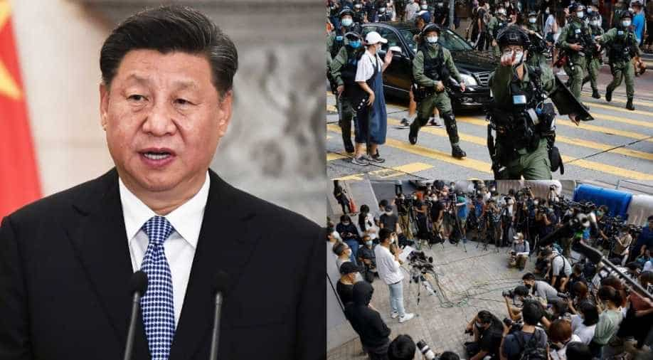 US Sanctions Four Chinese Officials for Hong Kong Clampdown