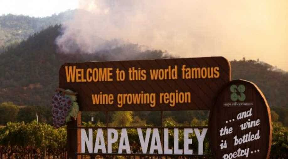 New wildfires hit wine country near San Francisco