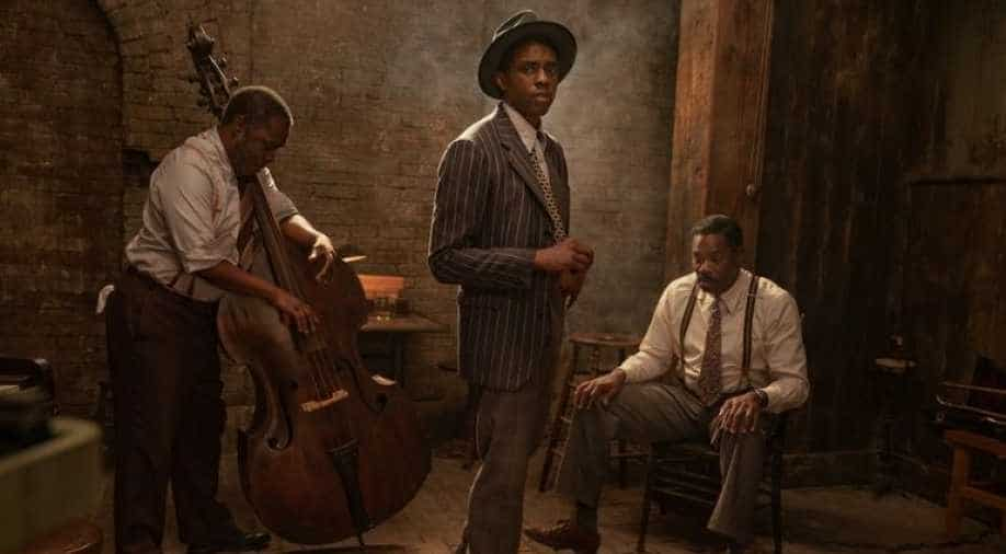 First images for last film starring Chadwick Boseman arrive