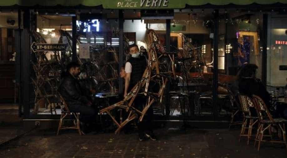 Paris placed under maximum coronavirus alert