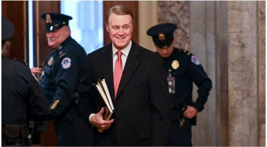 #Election2020: Senator David Perdue mispronounces Kamala Harris on objective