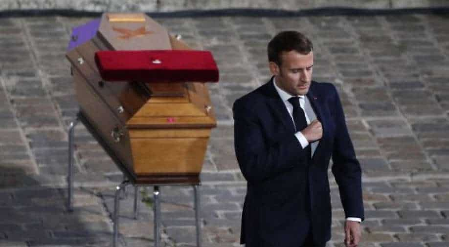 Samuel Paty was killed because he embodied the Republic: President Macron