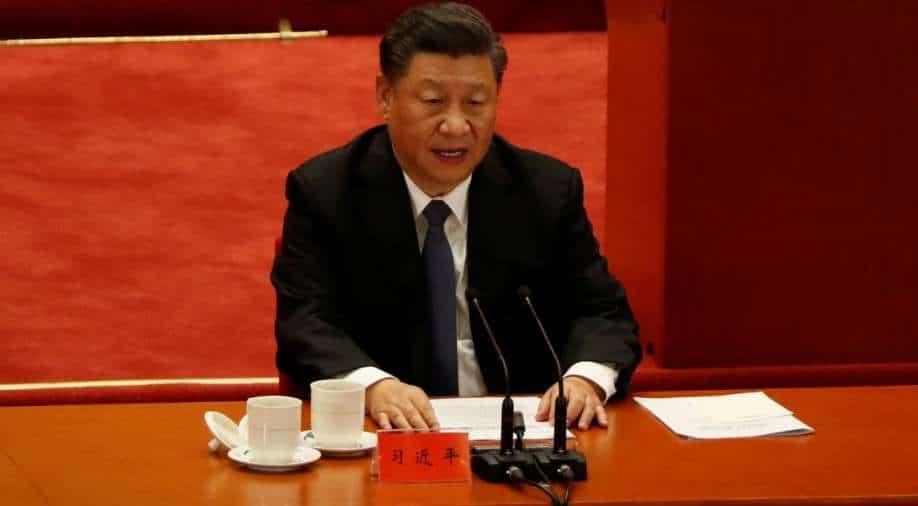 Xi takes digs at U.S. in Korean War speech