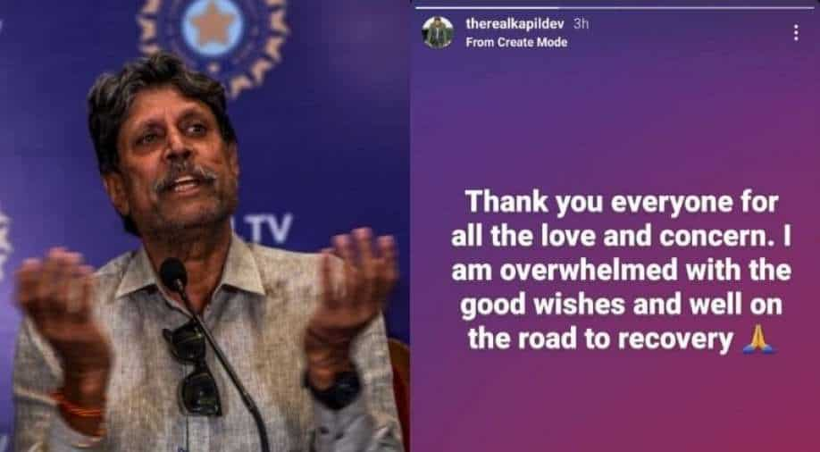 Kapil Dev suffers heart attack, undergoes angioplasty surgery in Delhi
