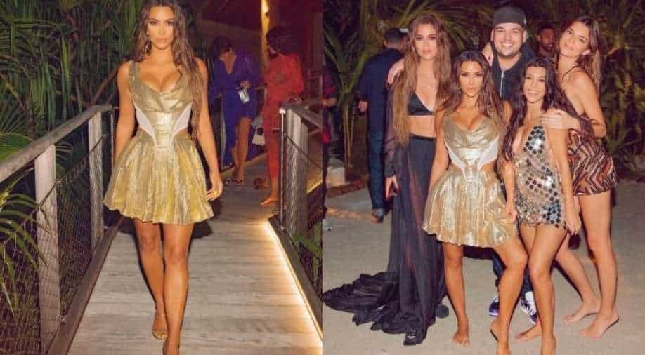 Kim Kardashian chided after breaking COVID restrictions for extravagant bash