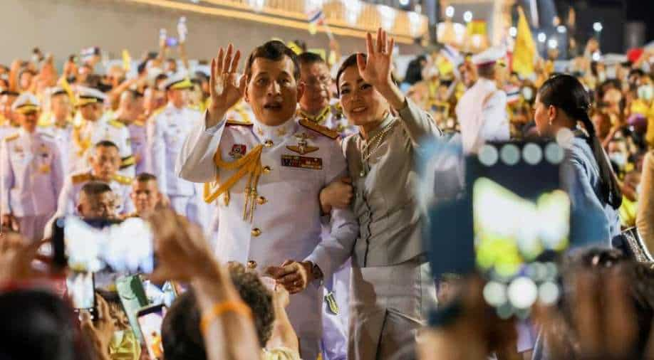 Thai king declares 'love' for all after months of protests