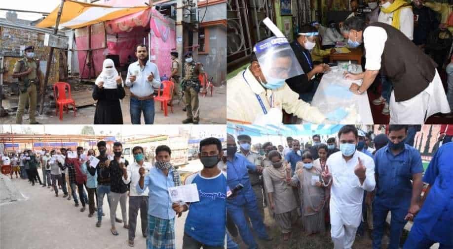 Bihar polls 2020: NDA well past Grand Alliance in early trends