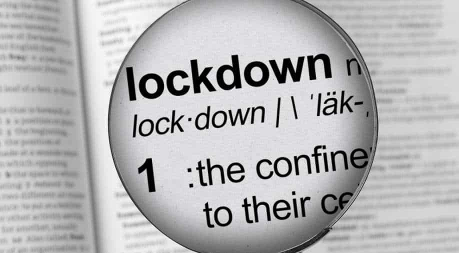 Collins Dictionary names 'lockdown' its word of the year for 2020