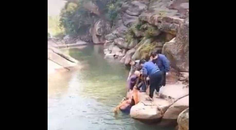 British diplomat saves student from drowning in Chinese river