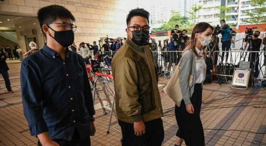 Hong Kong: Joshua Wong pleads guilty in protest at trial