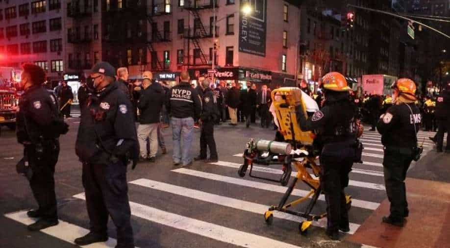 Auto ploughs into Black Lives Matter protest in New York City
