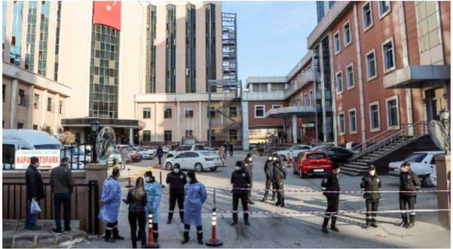 Covid-19 patients killed by explosion in ICU at Turkish hospital