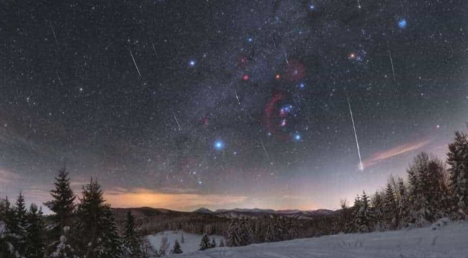 Watch for the Geminid Meteor Shower