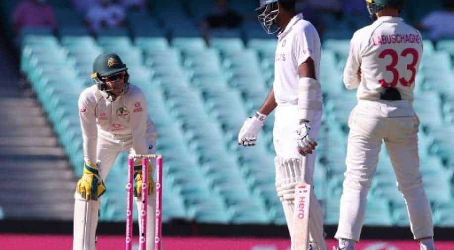 Paine loses focus while trying to sledge Ashwin, drops 3 catches