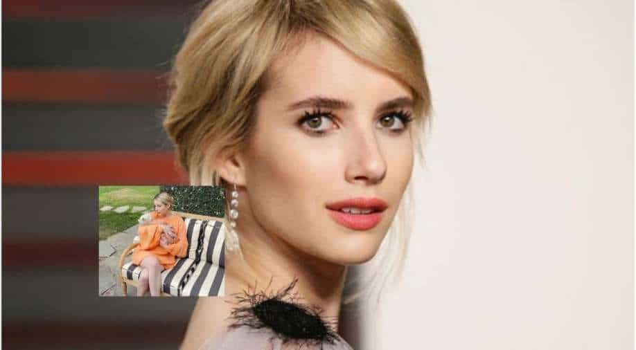 Emma Roberts has had her first baby