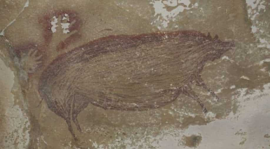 Archaeology: Wild pig painting drawn over 45,000 years ago