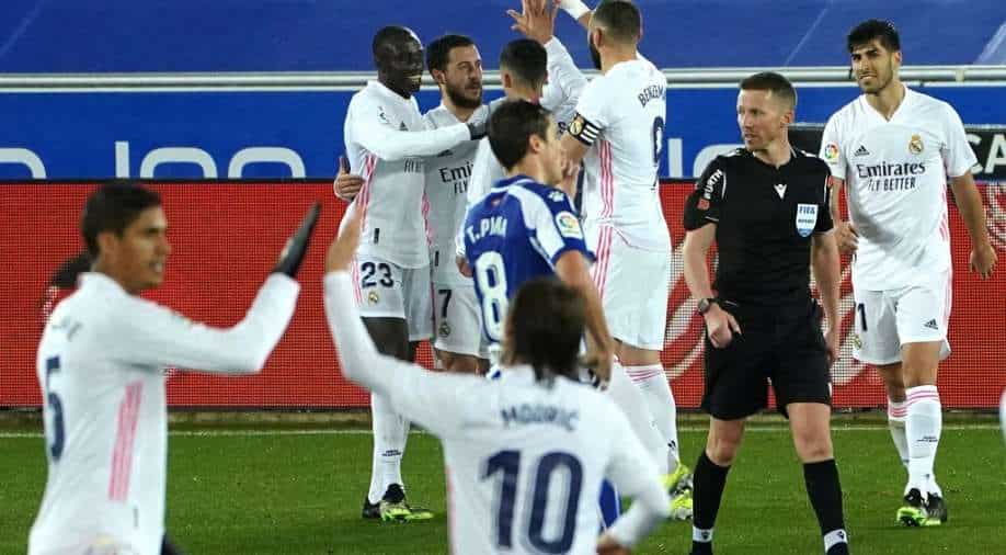 Real Madrid secures important win over Alaves in La Liga