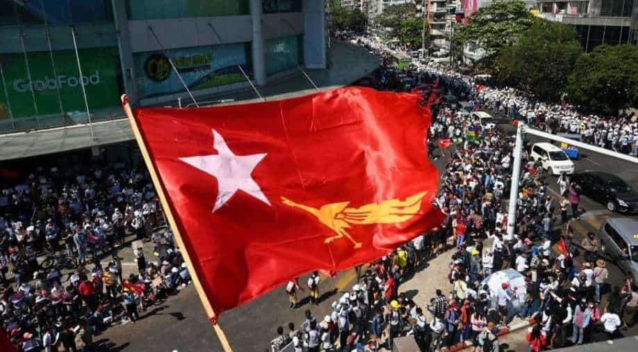 """At least one killed in protest in Myanmar - emergency service"""""""